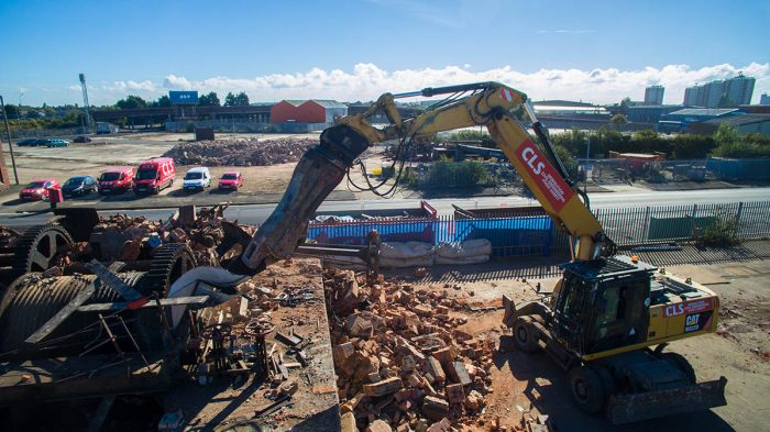 CLS: CIVIL ENGINEERING - DEMOLITION - GROUNDWORKS - NATIONWIDE - LINCOLNSHIRE BASED - GRIMSBY DEMOLITION COMPANY