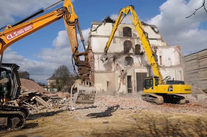CLS: CIVIL ENGINEERING - DEMOLITION - GROUNDWORKS - NATIONWIDE - LINCOLNSHIRE BASED - HIGH REACH DEMOLITION