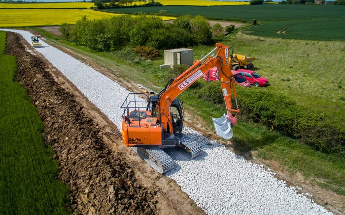 CLS: CIVIL ENGINEERING - DEMOLITION - GROUNDWORKS - NATIONWIDE - LINCOLNSHIRE BASED - EXCAVATOR GROUND WORKER